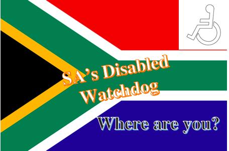 SA's Disability Watchdog: No Bark, No Bite. Hell, No dog.