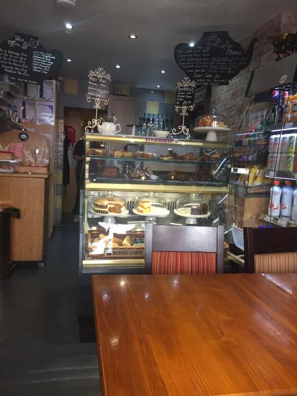 Maddies Tea Room cake stand